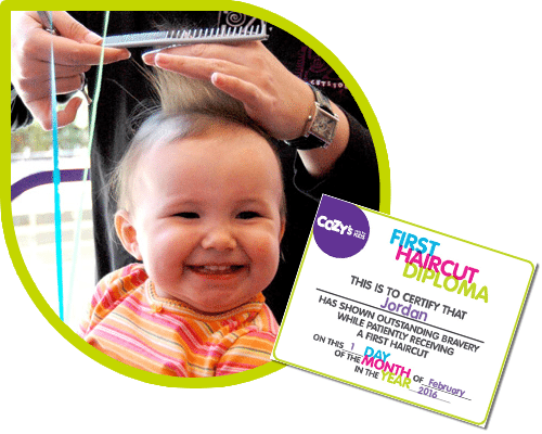 When to get first haircut for baby girl