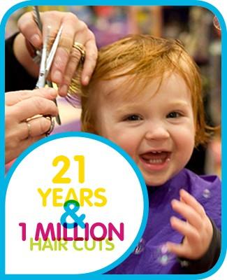 Kids Hair Salon - 21 Years - 1 Million Hair Curs