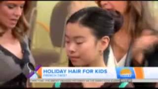The Today Show: Cute and Creative Holiday Hairstyles for Kids
