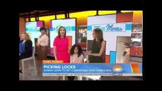 Today Show Segment On Embracing Curly Hair